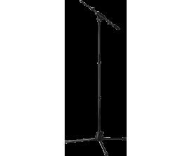 K&M 27195 - Pied de micro à Perche extensible 425-725 mm, base trepied, noir