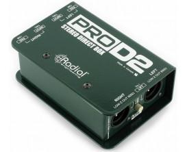 RADIAL PRO D2 - DI Box passive 2 canaux