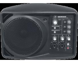 MACKIE SRM-150 - Enceinte portable 150 watts RMS, 3 canaux, 3.4 kg