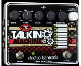 ELECTRO-HARMONIX Stereo Talking Machine - Vocal Formant Filter - Série XO (Alim 9.6DC-200 fournie)