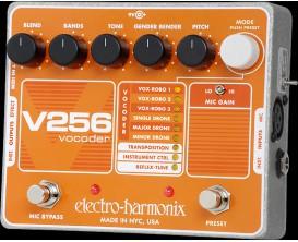 ELECTRO-HARMONIX V256 - Vocoder with Reflex-Tune - Série XO (Alim 9.6DC-200 fournie)
