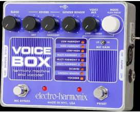 ELECTRO-HARMONIX Voice Box - Harmony Machine & Vocoder - Série XO (Alim 9.6DC-200 fournie)