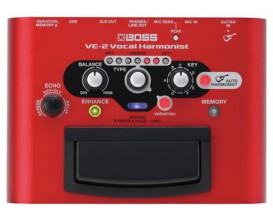 BOSS VE-2 - Processeur Vocal Harmonist