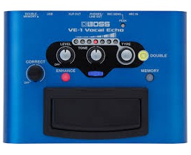 BOSS VE-1 - Vocal Echo, EZ vocal multi-effect