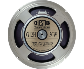 "CELESTION G12H30/16 Anniversary Edition - HP 12"" 16 Ohms, made in UK"