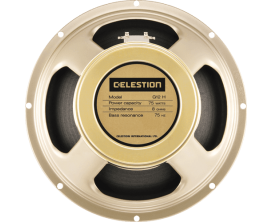 "CELESTION G12H-75 CREAM 16 - HP GUITAR 12"" 16 Ohms"