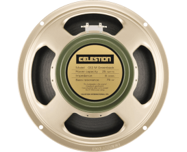 CELESTION G12M-GREENB-15 - HP Greenback 25 Watts, 16 Ohms