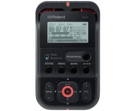ROLAND R-07 BK - Enregistreur compact MP3/WAV, fonctionnalités Bluetooth, noir