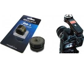 ZOOM HS-1 - Adaptateur enregistreur ZOOM H sur caméra