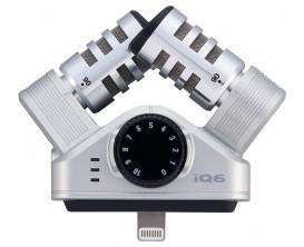 ZOOM IQ6 - Microphone stéréo professionnel pour IOS (connecteur Lightning)