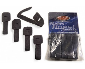 STAGG VCS-225 5 Bandes Velcro attaches câbles - Noir