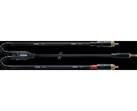 CORDIAL CFY3WCC - Câble Mini Jack Stéréo/2X RCA 3m