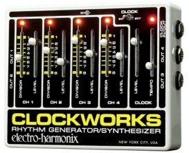 ELECTRO-HARMONIX Clockworks - Clockworks, Rhythm Generator/Synthesizer