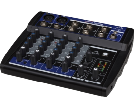 WHARFEDALE Pro Connect 802 USB - Mini Mixeur 4 voies, 8 entrées USB