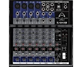 WHARFEDALE PRO SL 424 USB- Table de Mixage 8 entrées avec interface USB pour enregistrement