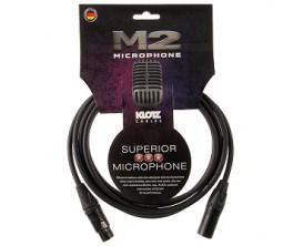 KLOTZ M2FM1-1000 Supreme M2 Câble Micro 10 m XLR/XLR