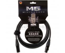 KLOTZ M5FM06 Pro M5 Câble Micro 6 m XLR/XLR