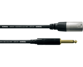 CORDIAL CCM5MP - Câble XLR Male/ Jack Male Mono 5m