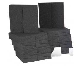 AURALEX D36 ROOMINATOR KIT (CHARCOAL) - Kit de 36 panneaux mousses pour correction acoustique studio (18 x DST112 + 18 x DST 114