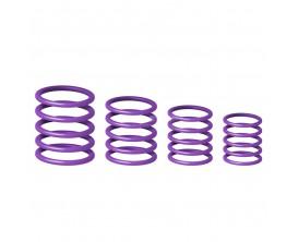 GRAVITY RP 5555 PPL 1 Kit anneaux de couleur pour marque Gravity. Mauve