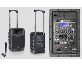 "LD SYSTEMS ROADBUDDY 10 - Sono portable sur batterie, lecteur multimedia USB SD, Micro HF main fourni, 120 w RMS, HP 10""+ tweete"