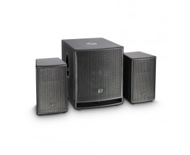 "LD SYSTEMS Dave 12 G3 - Système Sono compact actif Sub 12"" 1000w"