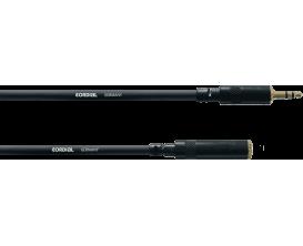 CORDIAL CFS3WY - Câble Mini Jack Femelle/Mini Jack Male Stéréo 3m