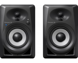 "PIONEER DM-40BT - Paire de moniteurs 4"", bluetooth, noir"