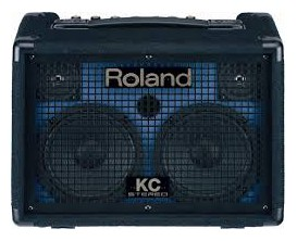ROLAND KC-110 Stereo Keyboard Amp 30W Effects Battery Operated