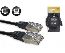 STAGG NCC15RJ - Câble réseau SFTP CAT 6 , série N - RJ45 / RJ45, 1.5 m