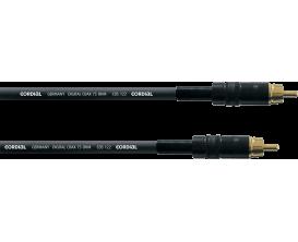 CORDIAL CPDS2CC - Câble numérique SP/Dif Coaxial (RCA) 2 mètres