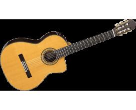 TAKAMINE TH5C Hirade - Guitare classique 4/4 électro-acoustique, table cèdre massif, corps palissandre massif, CTP-3 Cooltube pr
