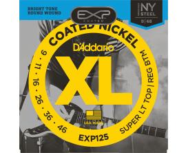 D'ADDARIO EXP125NY - Jeu de cordes électrique 9/46 Super Light top / Reg Bottom, longue durée