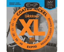 D'ADDARIO EXP110 EXP NY - Jeu de cordes électrique 10/46 Regular Light, longue durée
