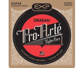 D'ADDARIO EXP45 - Jeu de cordes classique Tirant Normal, Composite, Longue durée
