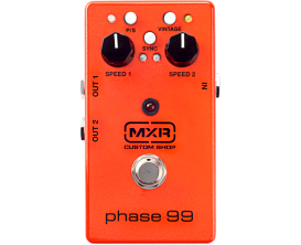 MXR CSP099 Custom Shop PHASE 99 - Pédale de Phaser, édition Custom Shop