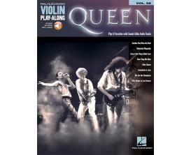 Play Along Queen Vol.68 pour violon - Ed. Hal Leonard -