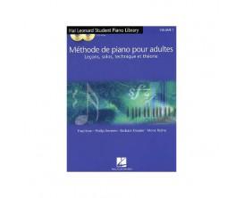 Methode piano pour adulte (leçons, solos, technique et théorie), version FR - F. Kern P. Keveren B. Kreader M. Rejino - Hal Leon
