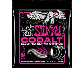 ERNIE BALL 2723 - Jeu de cordes guitare électrique Cobalt Slinky 9/42