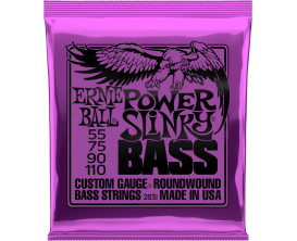 ERNIE BALL 2831- Jeu de cordes basses 4c Power Slinky Bass 55/110
