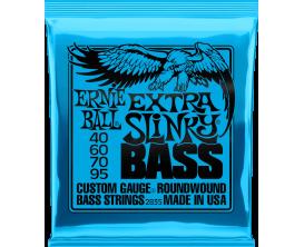 ERNIE BALL 2835 - Jeu de cordes basse 4c Extra Slinky Bass 40/95