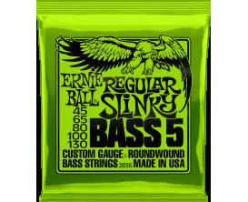 ERNIE BALL 2836 - Jeu de cordes basse 5c Regular Slinky Bass 5 45/130