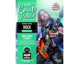 Coup De Pouce - Débutant Guitare Rock Volume 2 (Guitare Electrique) avec CD - D. Roux, L. Miqueu - Ed. Coup de Pouce