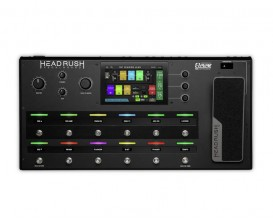 """HEADRUSH Gigboard - Multi effets live ou studio, Moteur Eleven HD, Processeur quadricoeur, écran tactile 7"""""""