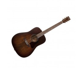 ART&LUTHERIE Americana Bourbon Burst - Guitare Dreadnought acoustique, table massive épicéa, Bourbon Burst