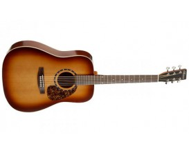 NORMAN B18 Tobacco Burst - Guitare Dreadnought, Table cèdre, Tobacco Burst (sans housse)