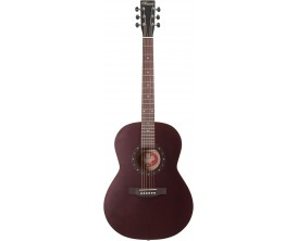 NORMAN B18 Folk Burgundy - Guitare Format Folk Acoustique, Table cèdre, Burgundy (sans housse)