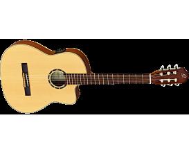 ORTEGA RCE125SN - Guitare Classique Electro Thinline, épicéa / acajou, Slim Neck + Gig Bag