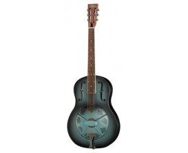"PARAMOUNT Grey Goose 1929 - Resonator corps acier, Cône 9.5"", finition Grey Burst Satin"