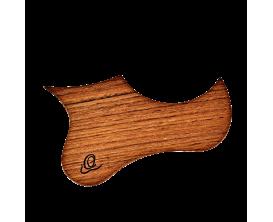 ORTEGA OWPSC-WN - Pickguard Walnut pour ukulélé Soprano et Concert